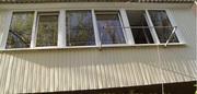 Остекление балконов и лоджий металлопластиком в Феодосии