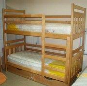 Двухъярусная детская кровать Чебурашка