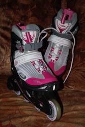продам детские роликовые коньки hy skate junior для девочки
