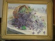 Продам картину Цветковой Фиалки
