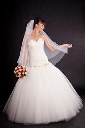 Платья Свадебные Пышные С Камнями На Корсете