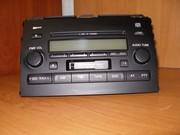 автомагнитола штатная б/у Toyota Prado 120,  2008 г.в