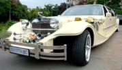 Прокат лимузинов. Автомобиль на свадьбу: Кабриолет,  Хаммер,  Лимузин,  Ретро,  Микроавтобус. Ялта,  Севастополь,  Алушта.