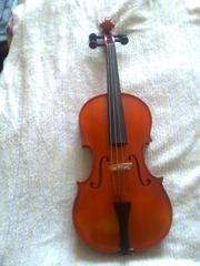Скрипка-альт пр.Чехия, смычок.
