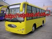 Автостекло триплекс,  лобовое стекло для автобусов YouYi