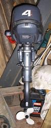 Подвесной лодочный мотор YAMAHA F4 AMHS.
