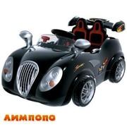 детский автомобиль в виде скоросной машины