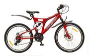 Продам новый подростковый горный двухподвесный велосипед Formula Outla