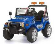 Ого!Детский электромобиль 618R + Д/У синий