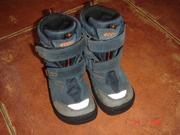 Детские зимние ботинки ECCO 24-й размер,   интересно для ДВОЙНИ