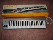 Продам миди-клавиатуру m-audio keyrig 49