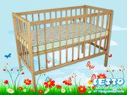 Кроватки детские для новорожденных LETTO от производителя оптом и в розницу.