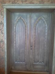 Двери,  лестницы,  окна,  мебель из дерева на заказ. реставрация изделий