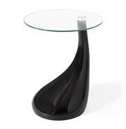 Стол,  диаметр 60 см,  Перла Н,  цвет черный- СКИДКА 5%!!!