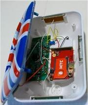 GSM прослушка – стильные электронные часы. Digital clock - GSM Spy