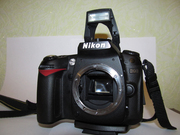 nikon D90 c nikon 85 mm.f/1.8 D + подарок circular polarizer 62mm.