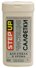 SP 5590 Чистячі серветки для скла і хрому з цитрусовим ароматом,  25 ш