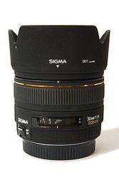 SIGMA 30 mm f/1, 4 EX DG for Nikon