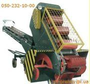Самоходный ковшовый шнековый погрузчик зерна КШП-6