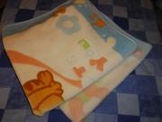 Продам плед-одеяло для близнецов (2 шт).