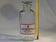 Бутылка 2, 3л из под мед. Препарата с притёртой пробкой. Шестидесятых г