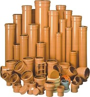 Трубы ПВХ и фитинги для наружной канализации Симферополь