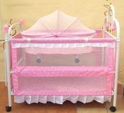 СРОЧНО детская кроватка + люлька для новорожденного + манеж. Доставка!