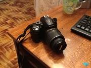 Nikon d3000 kit official + вспышка nissin Di 466 3000 грн