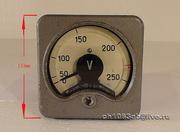 Вольтметр 250v 2A 1966 года выпуска. Влагозащищённый  в очень хорошем
