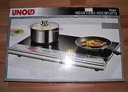 Индукционная плита Unold (двухкомфорочная) б/у из Германии