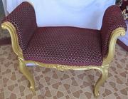Кресло-Банкетка старинная
