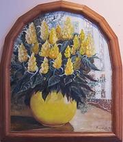 Авторские работыНатюрморт Цветы у окна