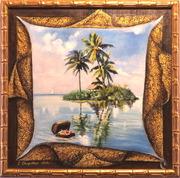 Авторские работы «Остров мечты»,