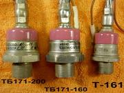Мощные Тиристоры - Симисторы ТБ171-200,  Тб171-160,  Т-161