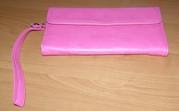 розовая сумочка - кошелек