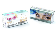 Предложу синие контактные линзы в разных оттенках