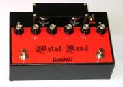 Продам ламповый distortion Grosheff Metal Head ручной работы