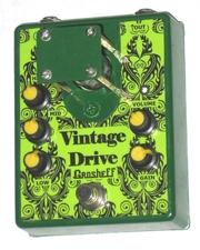 Продам ламповый overdrive Grosheff Vintage Drive ручной работы