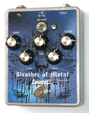 Продам metal distortion Grosheff Brother of Metal ручной работы