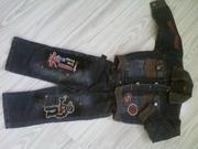 ПРОДАМ костюм джинсовый на мальчика 3-4 года  недорого