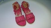 Туфли летние для девочки (новые 34-37 р-р)
