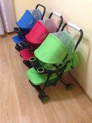 новая супер легкая детская коляска-книжка
