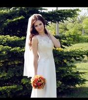 Продам шикарное свадебное платье.