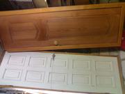 Двери деревянные с коробкой (б/у и новая)