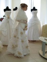 Свое шикарное свадебное платье