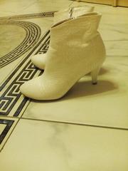 свадебные полу сапожки