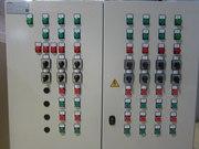 Шкафы управления,  конвейеры,  насосы,  электродвигатели,  редукторы