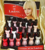 Лак для ногтей ТМ «Аrt de LAUTREC» (Франция)